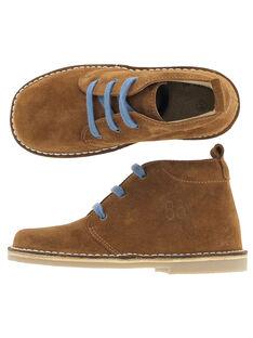 Boots en cuir garçon DGBOOTERS3 / 18WK36T8D0D804