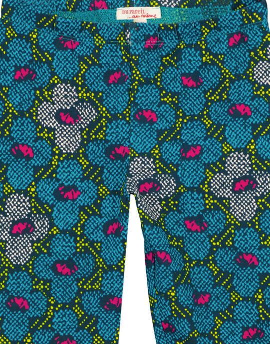 Legging à motif.  GYATULEG / 19WI01Q1CAL714
