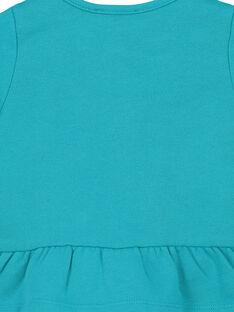 Gilet en coton broderies bébé fille FITUCAR2 / 19SG09F2CAR202