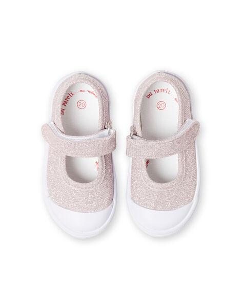 Babies roses à paillettes bébé fille LBFBABLUREX / 21KK3742D17301