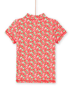 Tee-Shirt anti-uv Rose LYAMERLUVEX / 21SI01D2TUV309