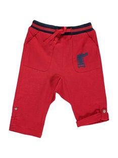 Pantalon en lin bébé garçon CUGAUPAN / 18SG10L1PANF513