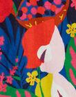 Robe cache cœur imprimé fleurie multico KAREROB2 / 20W901G3ROB070