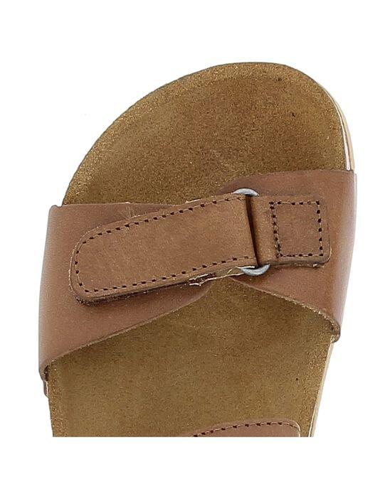 Sandale en cuir garçon CGNUCAMEL / 18SK36W6D0E804