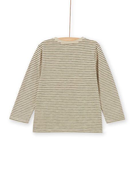 Tee Shirt Manches Longues Beige LOPOETEE / 21S902Y1TML808