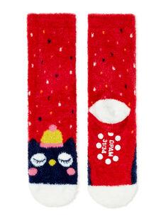Paire de chaussettes enfant fille KYALUCHODER / 20WI01P2SOQF521