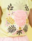 Tee Shirt Manches Courtes Jaune LAJAUTI2 / 21S901O2TMC116