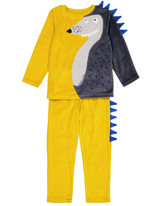 Pyjama Jaune GEGOPYJERI / 19WH12N7PYJB107