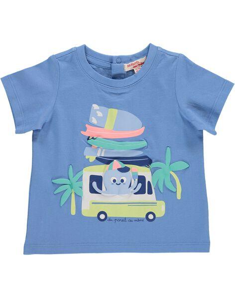 Tee-shirt manches courtes bébé garçon CUBUTI3 / 18SG10K3TMC213