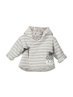 Veste à capuche bébé mixte FOU1VES / 19SF0511VES099