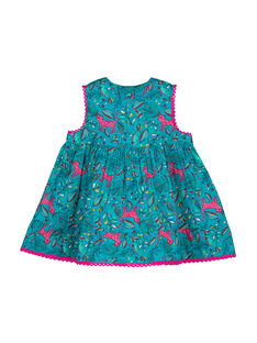 Robe sans manches fille FITUROB1 / 19SG09F1ROB202