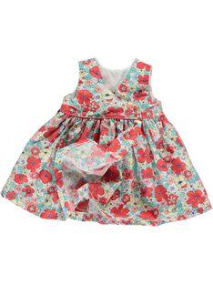 Robe cache-coeur bébé fille CIBUROB1 / 18SG09K2ROB099