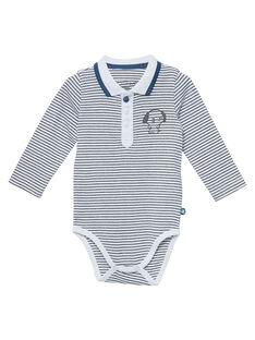 Body rayé naissance garçon JOU1BOD5 / 20SF04J1BOD000