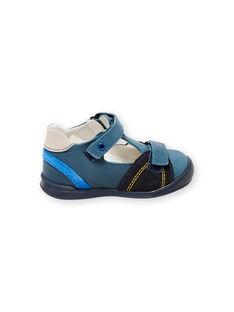 Sandales bleu bébé fille FBGSALNIA1 / 19SK3882D13C218