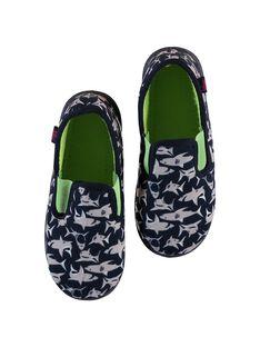 Slippers Bleu marine LGSGSHARK / 21KK3611D0B070