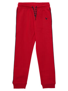 Jogging garçon rouge JOJOJOB4 / 20S90251D2AF520
