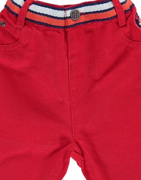Pantalon bébé garçon CUDEPAN1 / 18SG10F1PAN050