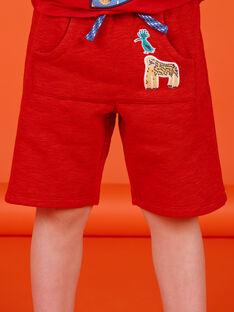 Bermuda Rouge chiné LOVIBER2 / 21S902U2BERF520