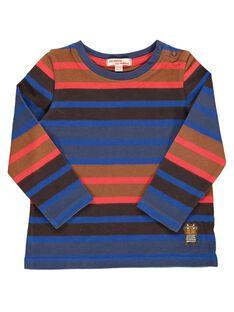 Tee-shirt manches longues rayé bébé garçon DUCHOTEE3 / 18WG10F3TML099