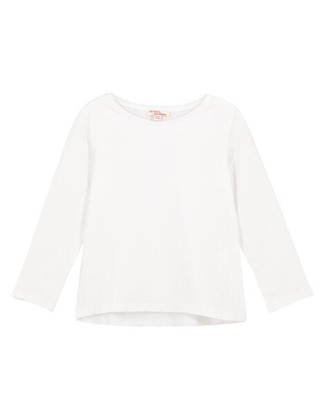 Tee Shirt Manches Longues Blanc GAESTEE1 / 19W901U5D32000