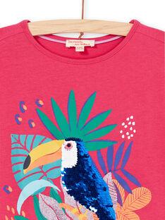 Tee Shirt Manches Courtes Rose LANAUTI1 / 21S901P2TMCF507
