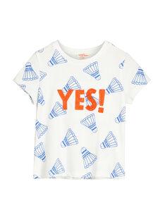 Tee-shirt manches courtes garçon FOCATI1 / 19S902D6TMC000
