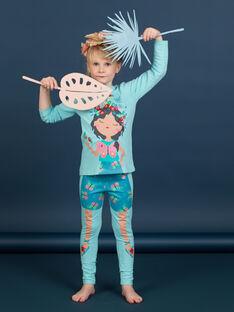 Pyjama Bleu LEFAPYJBUT / 21SH11S2PYGC215