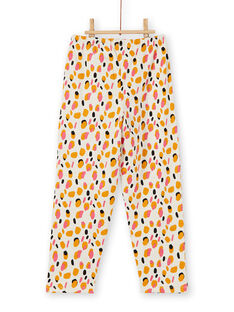Pyjama Ecru chiné LEFAPYJGIR / 21SH1113PYJ006