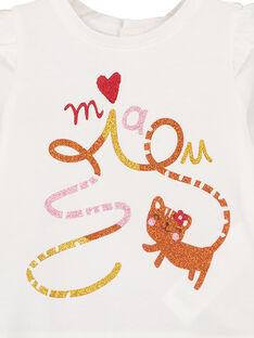 Tee Shirt Manches Longues Ecru GISANTEE1 / 19WG09C2TML001