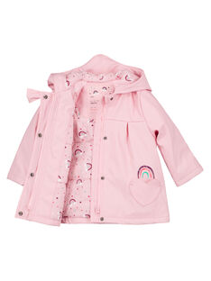 Imperméable Rose GIVEIMP / 19WG0981IMPD326
