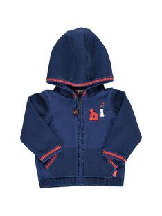 Gilet à capuche bébé garçon CUDEGIL / 18SG10F1GIL703
