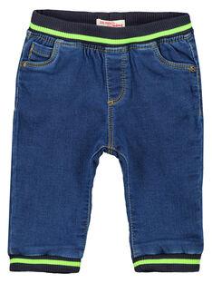 Jeans knit denim moyen bébé garçon GUBLAJEAN / 19WG10S1JEAP274