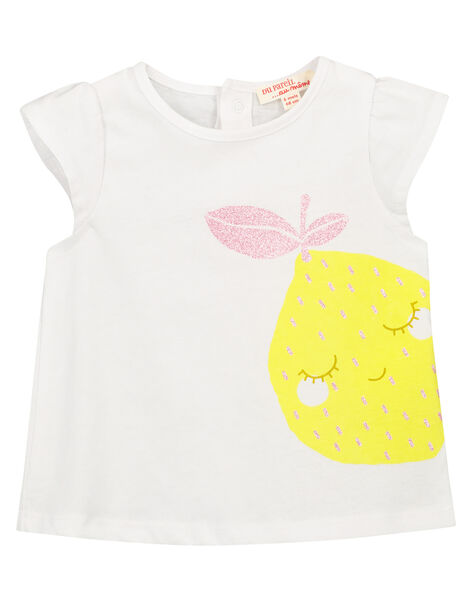 Tee-shirt fantaisie bébé fille FIJOTI8 / 19SG09G3TMC000