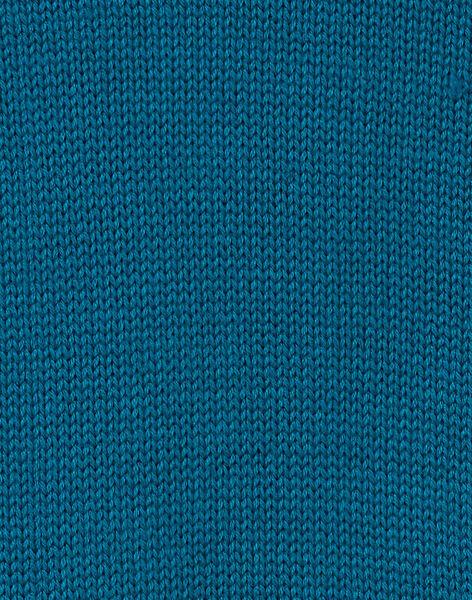 Pull tricot bleu animé enfant garçon KOECOPUL / 20W902H1D5DC217