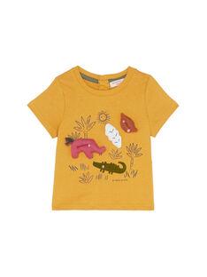 Tee Shirt Manches Courtes Marron JUDUTI1 / 20SG10O1TMC804