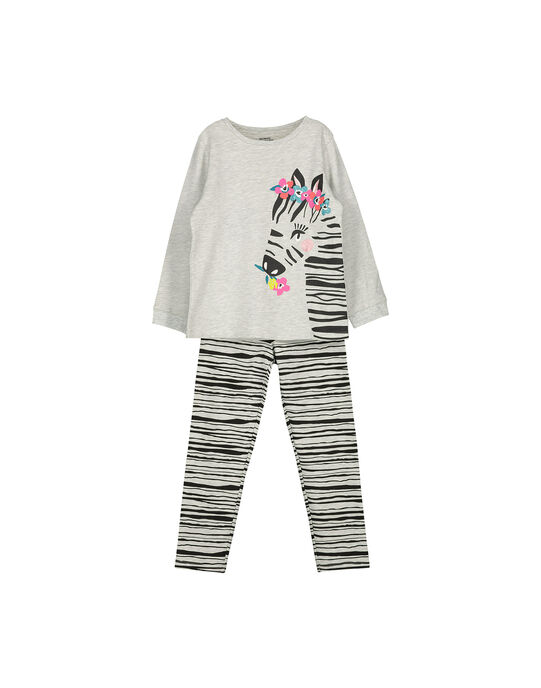 Pyjama fantaisie fille FEFAPYJZEB / 19SH1145PYJ943