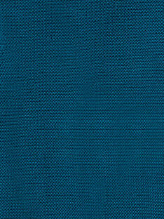 Gilet garcon en maille bleu KOU1GIL3 / 20WF0411GIL215