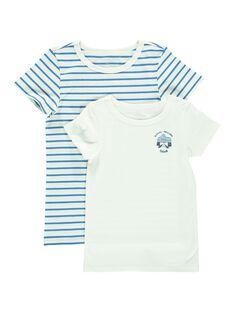 Lot de tee-shirts garçon CEGOTELHIP / 18SH12T1HLI201