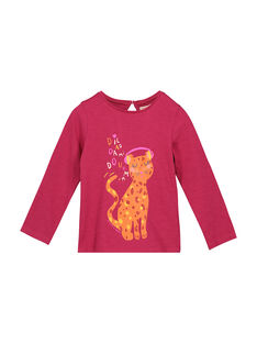 Tee-shirt fantaisie fille FABATEE1 / 19S90161TML304