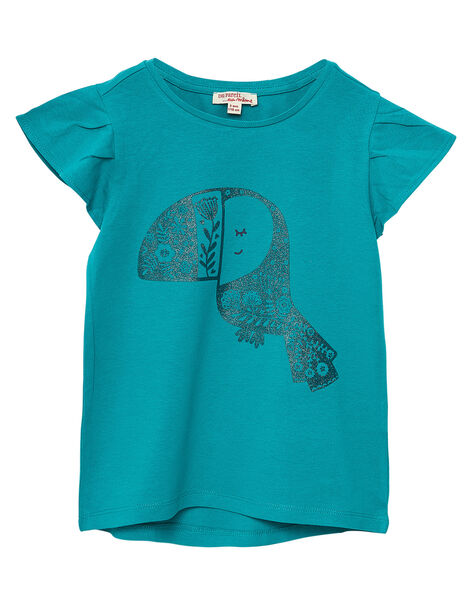 Tee Shirt Manches Courtes Bleu JAJOTI5 / 20S90143D31C235