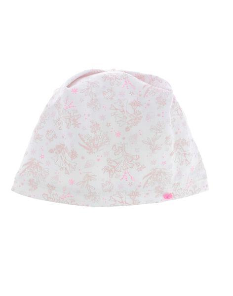 Bonnet de naissance bébé fille CACFBON1 / 18SF40B3BON099