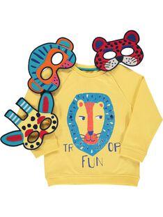 Sweat Shirt Jaune COFRISWE / 18S902H1SWMB102