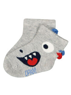 Chaussettes monstre bébé garçon FYUTOCHO / 19SI10L1SOQJ908