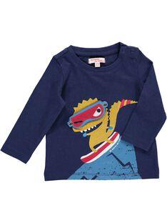Tee Shirt Manches Longues Bleu marine DUPINTEE2 / 18WG10P2TMLC204