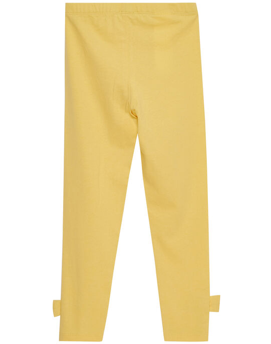 legging uni avec nœuds bas de jambes  JYASOLEG1 / 20SI0182CALB105