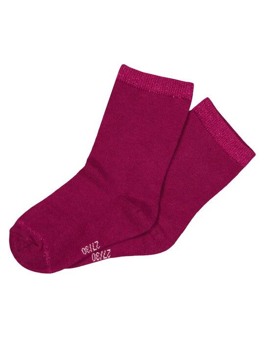 Chaussettes Violette GYAJOCHO3 / 19WI01L2SOQ718