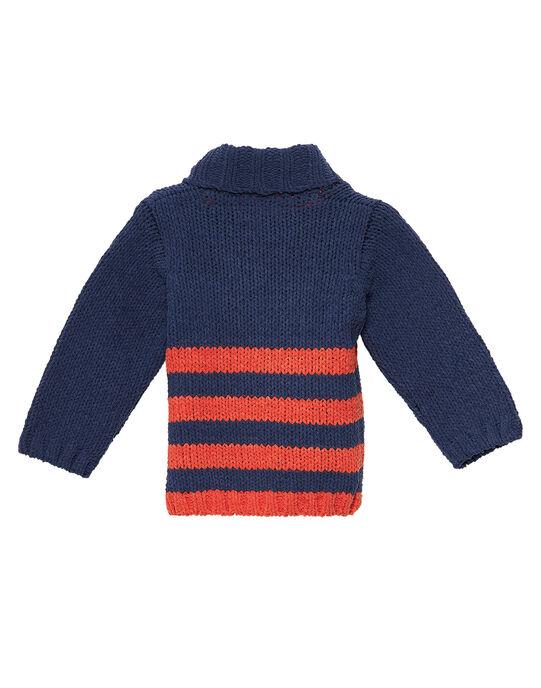 Pull rayé en chenille bébé garçon JUVIPUL / 20SG10D1PULC225