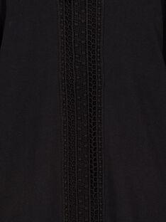Tee Shirt Manches Longues Noir GAJOSTEE1 / 19W90135D32090