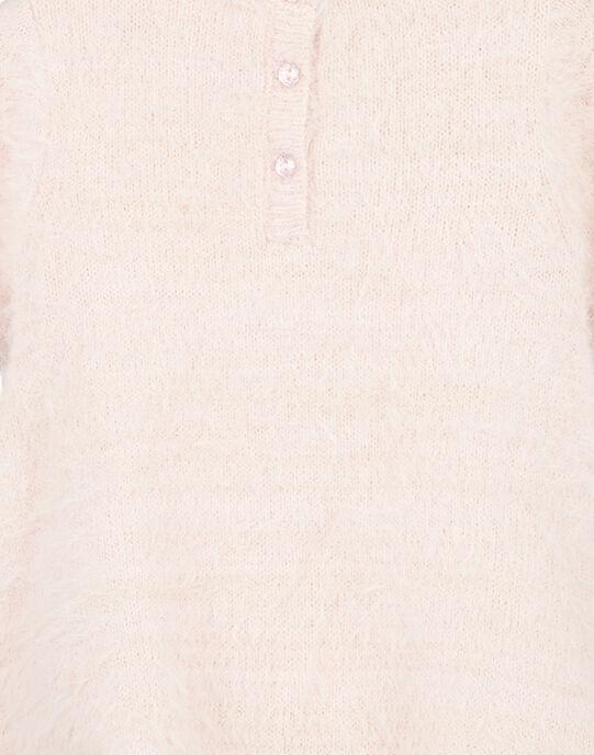 Robe en tricot et lurex layette fille GIBLAROB3 / 19WG09S1ROBD310