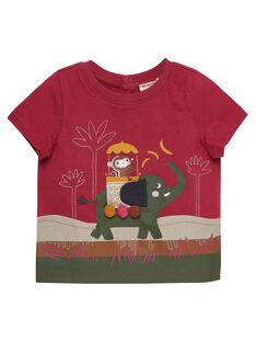 Tee Shirt Manches Courtes Rose JUDUTI2 / 20SG10O2TMC312